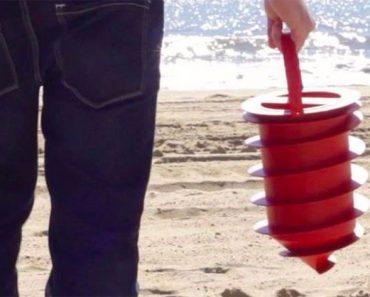 Este invento genial hará que tus días en la playa sean más seguros y libres de estrés