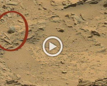 La imagen de la NASA que está dando la vuelta al mundo. ¿Qué es ESO que aparece sobre Marte?