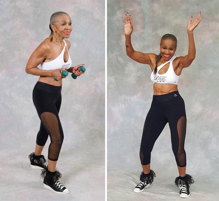 Es abuela, tiene 80 años y no te creeras su cuerpo (10 fotos)