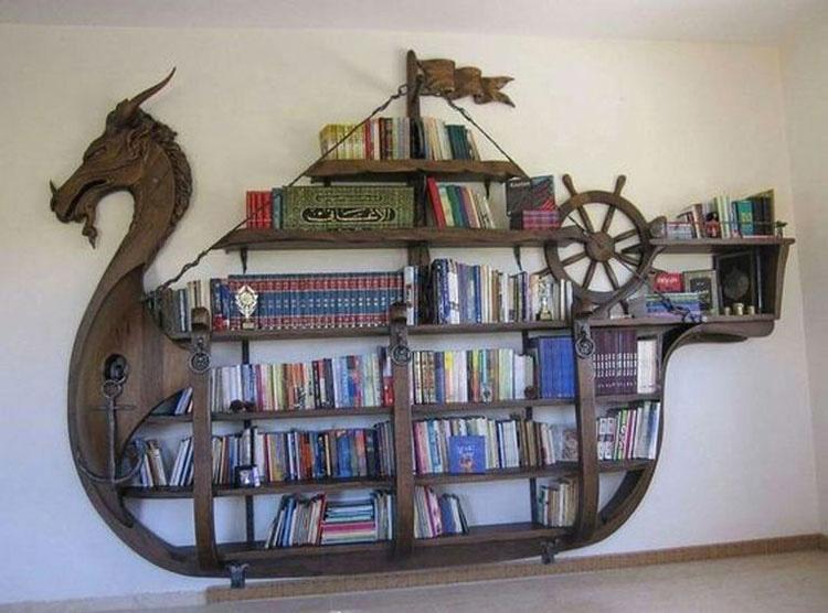 12 estanterías increíbles que harán que quieras ser un ratón de biblioteca. Necesito la #9 AHORA