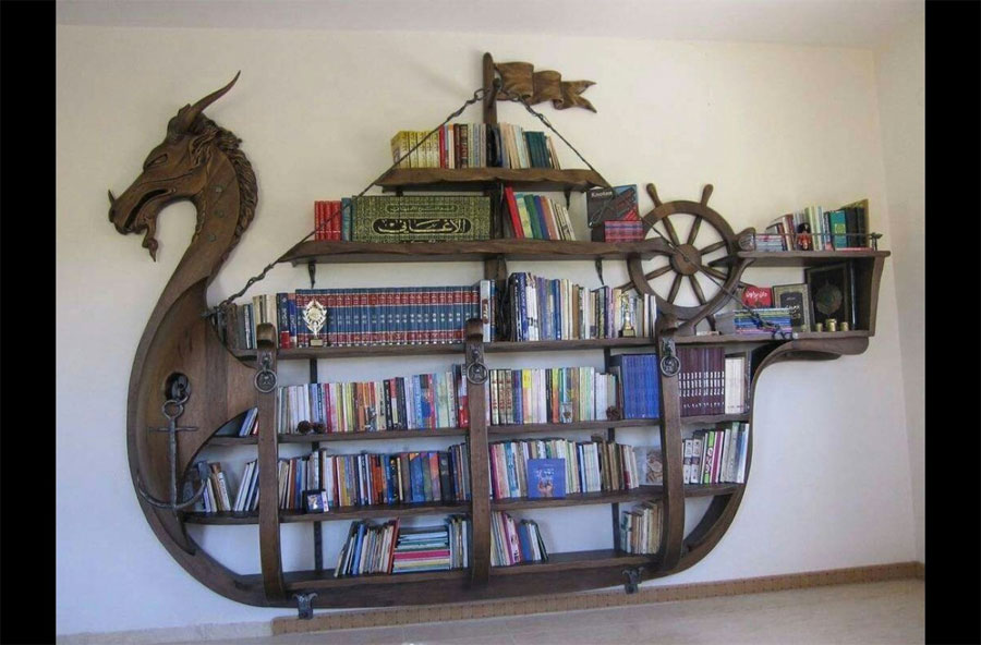 12 estanter as incre bles que har n que quieras ser un - Estanterias de libros ...