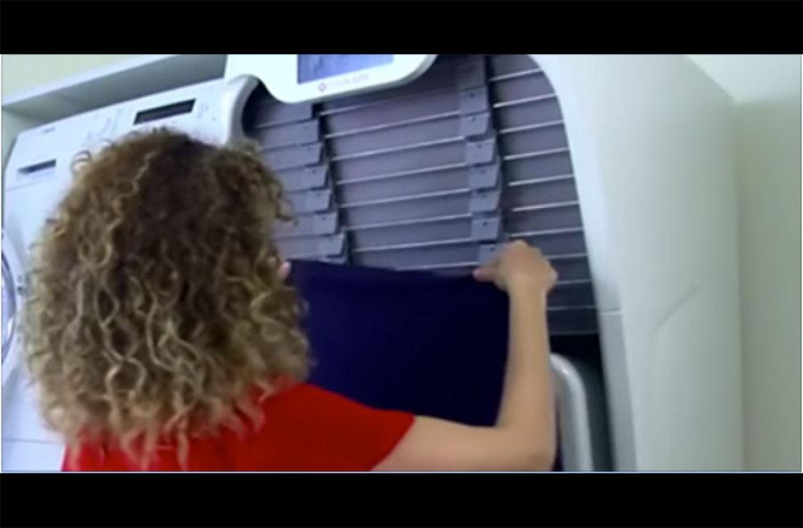 Coloca la ropa en esta máquina. ¿Qué hace después? Te dejará alucinando...
