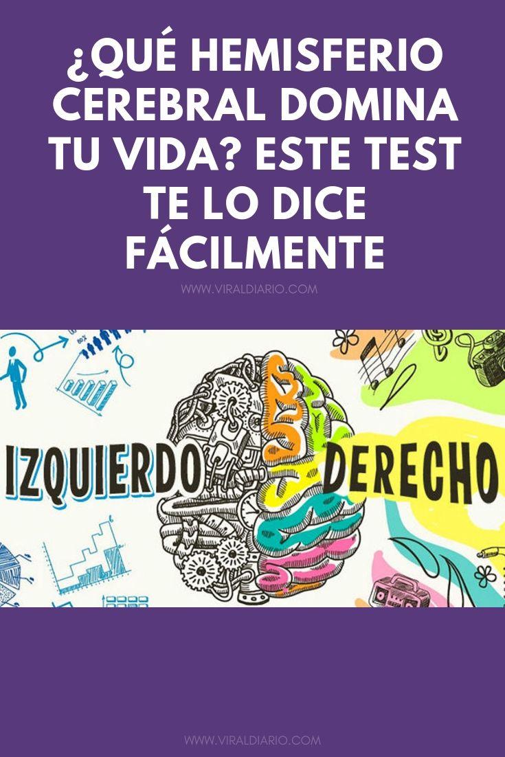 ¿Qué hemisferio cerebral domina tu vida? Este test te lo dice fácilmente