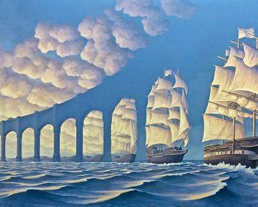 10 pinturas que esconden ilusiones ópticas. Las mirarás más de una una vez...