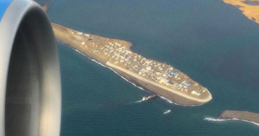 Esta isla de Alaska de 400 personas está a punto de ser borrada de la faz de la tierra