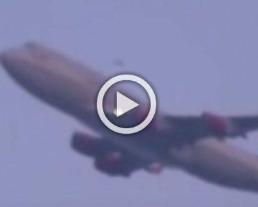 Filman ESTO en el aeropuerto JFK volando por encima de Nueva York. Mira el vídeo...