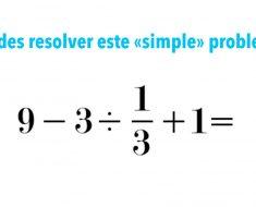 ¿Puedes resolver este problema de matemáticas? Los niños lo resuelven al instante...