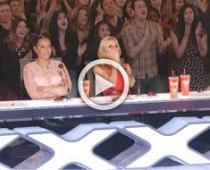 Los jueces sienten TERROR cuando ven a una concursante saltar de esta forma durante su audición ...