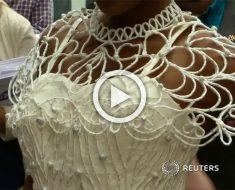 Cuando veas de qué están hechos estos vestidos de novia te quedarás con la boca abierta...
