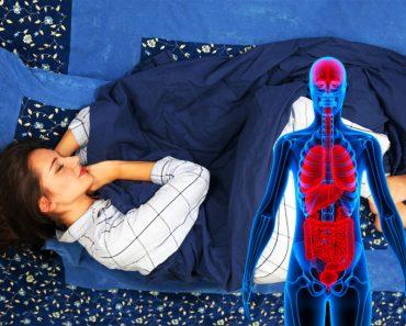 Esto es lo que sucede si duermes del lado izquierdo cada noche. Es sorprendente