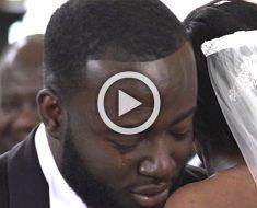 El novio no puede mirar a la cara de su novia. Y ahora su reacción se ha hecho VIRAL