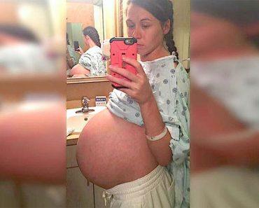 Está embarazada de trillizos. Un año después, una camarera entrega a su marido una misteriosa nota