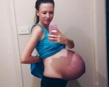 Encuentra un vieja foto de cuando estaba embarazada, pero NO ESTABA donde la dejó