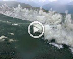 Registrada la mayor explosión realizada en la historia de Noruega. ¡Increíble!