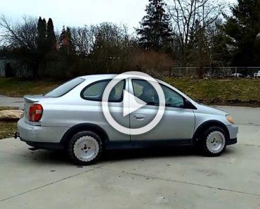Un inventor canadiense ha diseñado unas ruedas que permiten que el vehículo haga esto...