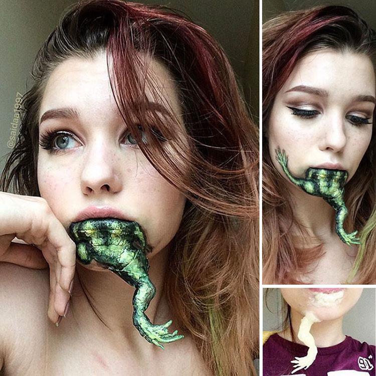 El trabajo de esta artista del maquillaje de 19 años te quitará el aliento