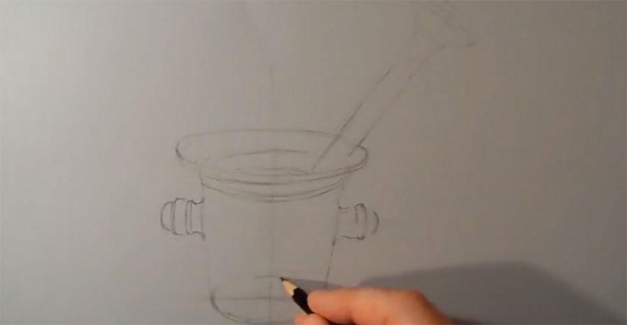 Comienza con unos sencillos trazos y acaba por hacer el arte en 3D más realista que hemos visto...
