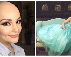 Esta preciosa chica de 17 años demuestra ASÍ que el cáncer no puede debilitar su hermoso espíritu