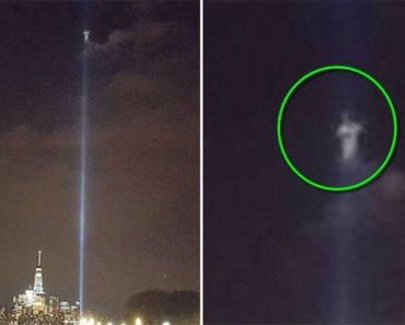 Alguien vio ESTO sobre el lugar del homenaje al World Trade Center el pasado 9 de septiembre