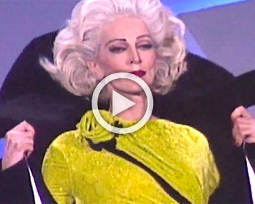 Se quedan en silencio cuando esta mujer de 85 años camina por la pasarela mejor que una joven modelo