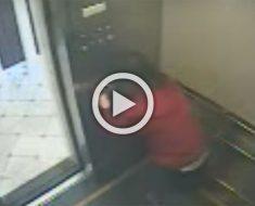 Este es el último de video conocido de esta mujer viva, y lo que muestra es terrible