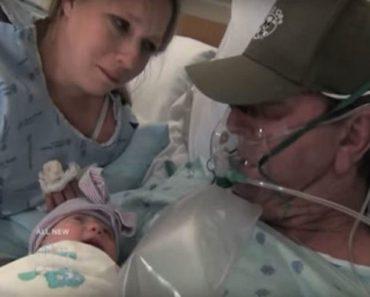 Le inducen el parto dos semanas antes para que su marido tenga tiempo de hacer esto