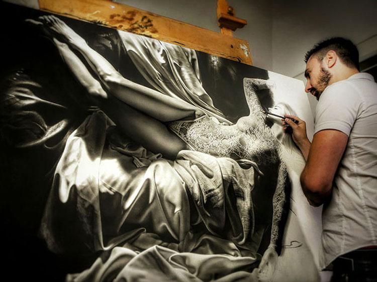Este artista italiano invierte casi 800 horas en cada una de sus increíbles piezas de arte