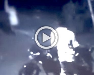 Esta podría ser la mejor grabación de una cámara de vigilancia en el que aparece un supuesto fantasma
