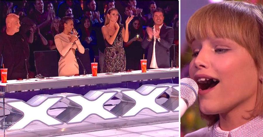 Los 4 jueces caen a sus pies después de que Grace Vanderwaal interprete su poderosa canción final