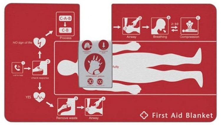 Unos genios acaban de inventar una manta que puede salvar tu vida, y su secreto es muy sencillo