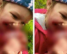 Comparte foto de su hija y los padres se ponen furiosos cuando se dan cuenta de lo que está comiendo