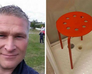 Los testículos de este hombre se atascaron en un taburete de IKEA, ahora mira su respuesta ÉPICA
