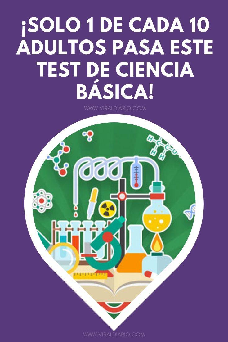 ¡Solo 1 de cada 10 adultos pasa este test de CIENCIA BÁSICA!