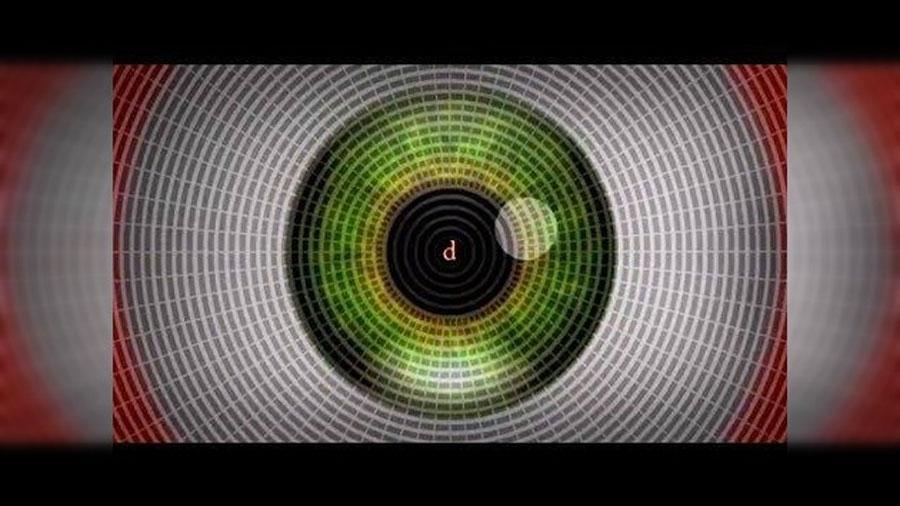 Este vídeo te hará alucinar sin tomar drogas (tan sólo debes observar las letras del centro)