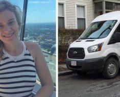 Unos hombres en una furgoneta acosan a esta mujer, entonces ella llama a su jefe para vengarse