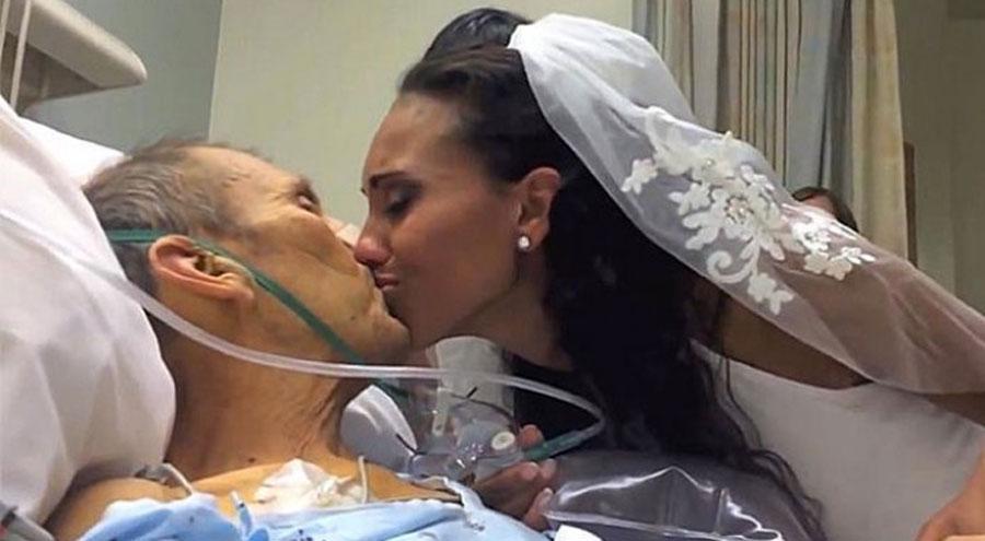 Un hombre en estado terminal está en el hospital: lo que hizo su hija lo dejará SIN PALABRAS