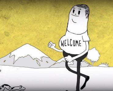 MAN: toda la crueldad del ser humano representada en unos dibujos animados
