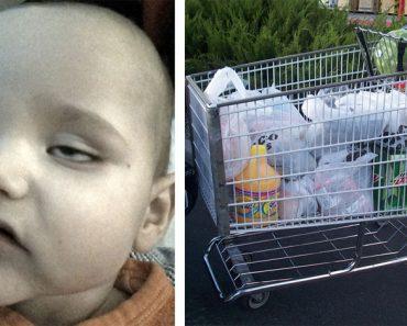 Esta madre sentó a su hijo en un carrito de compras, al siguiente día tenía 40 grados de fiebre