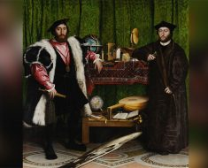 Durante siglos nadie descubrió lo que Hans Holbein pintó en este cuadro. ¿Lo ves?