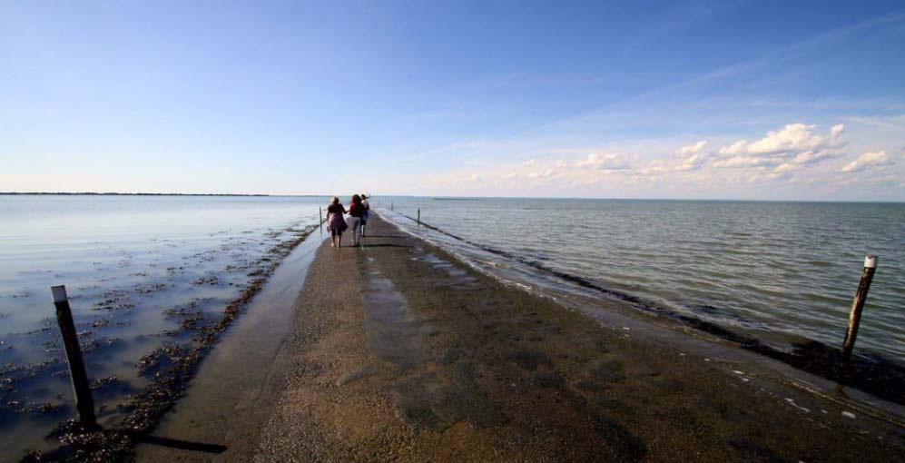 Passage du Gois es una carretera tan loca que desaparece bajo el agua 2 veces al día