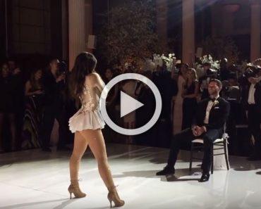 Esta famosa cantante decidió sorprender a su marido en el día de su boda de esta forma