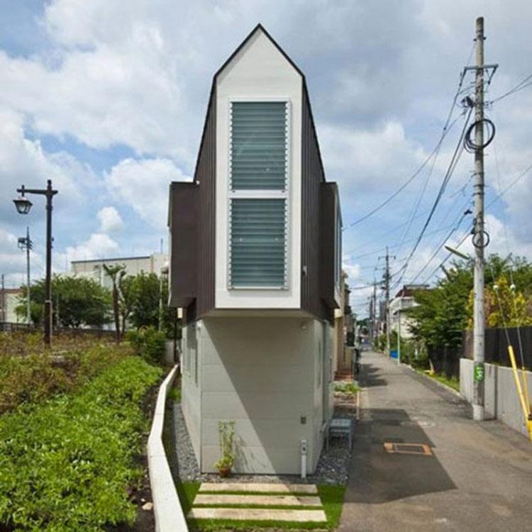 Esta diminuta vivienda parece algo extraña por fuera, pero cuando ves su interior...