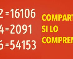 Si puedes resolver esta ecuación matemática, entonces realmente eres UN GENIO