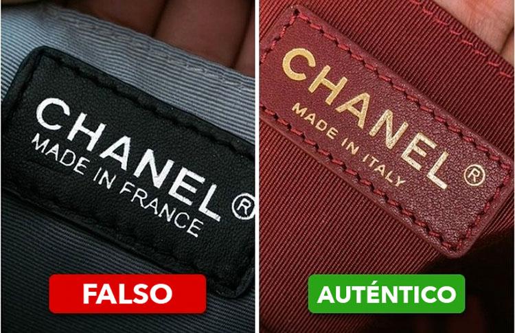 7 maneras de detectar un bolso falso de una marca famosa