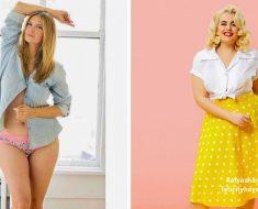 20 Modelos que demuestran que la belleza no se mide en tallas. ¿Cuál te parece más atractiva de las 20?