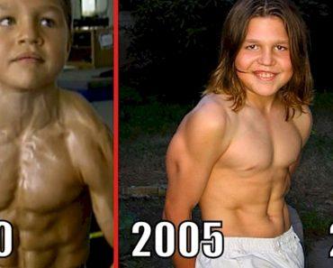 """Este es el aspecto actual de """"El pequeño Hércules"""", que fue el niño más fuerte del mundo"""