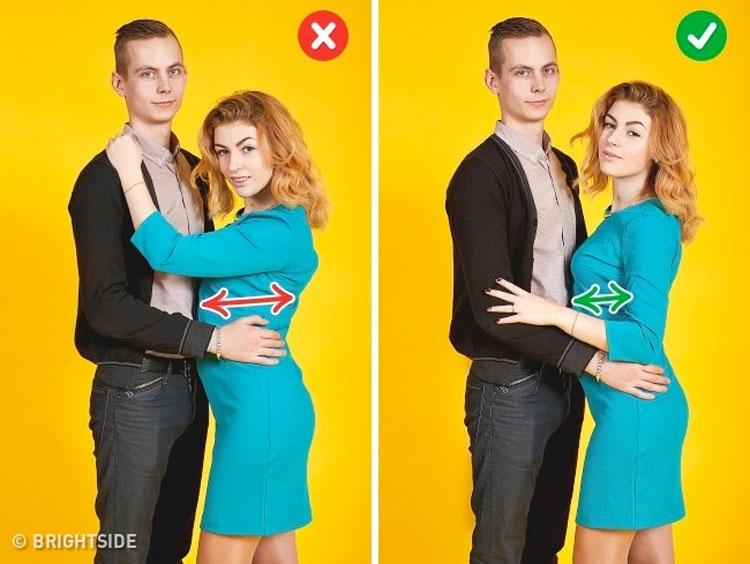 10 trucos para ayudar a cualquier pareja a convertirse tan fotogénica como estrellas de Hollywood