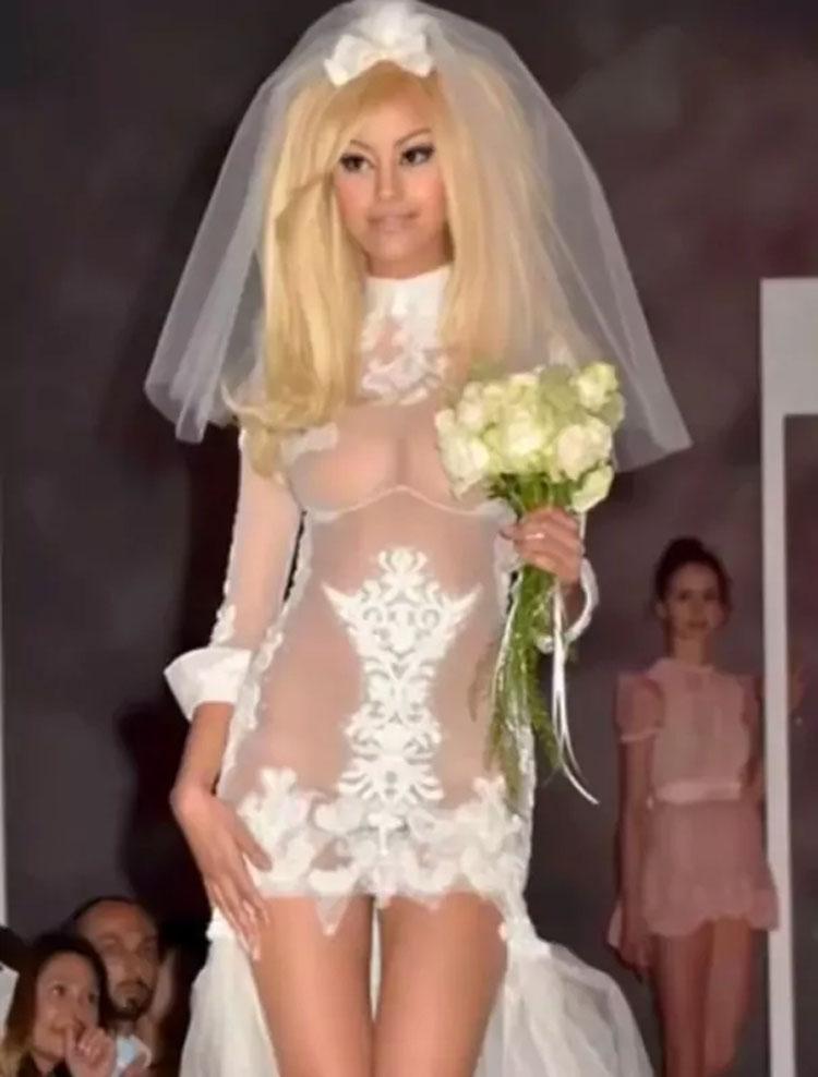 20 novias que deberían haber dicho NO a su vestido (rotundamente NO, especialmente la 17)