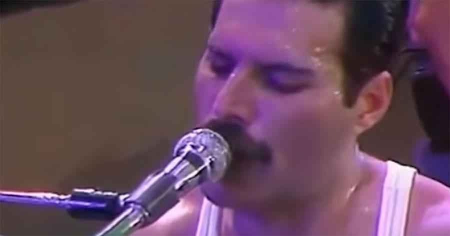 """Eliminaron la música de fondo de """"We Are The Champions"""" y sólo se escuchaba la voz de Freddie"""