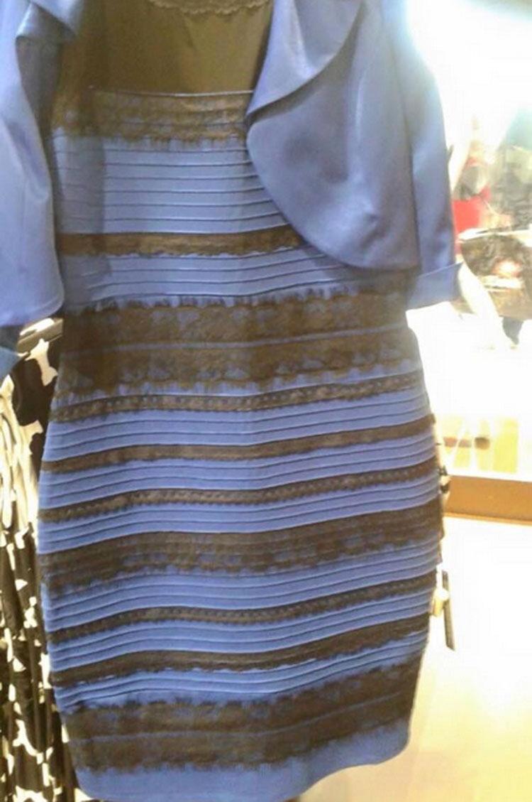 La pregunta que revoluciona Internet: ¿De qué color ves estas chanclas? ¿Blanco/dorado o Negro/azul?